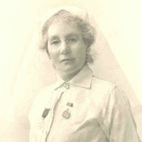 Image: A black and white image of Margaret Graham