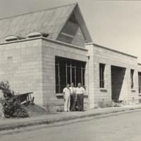 Image: Single story brick building