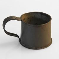 Image: tin cup