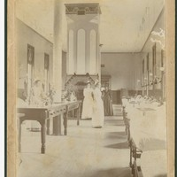 Image: Inside Adelaide Hospital in 1890