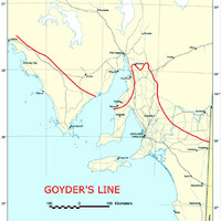 Map of Goyder's Line