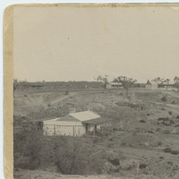 Image: Collection of seven tin and stone cottages at Murtho, South Australia