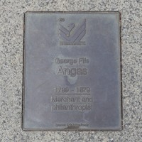 Image: George Fife Angas Plaque