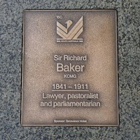 Image: Sir Richard Baker Plaque