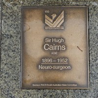 Image: Sir Hugh Cairns Plaque