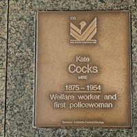 Image: Kate Cocks Plaque