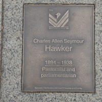 Image: Charles Allen Seymour Hawker Plaque