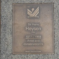 Image: Sir Hans Heysen Plaque