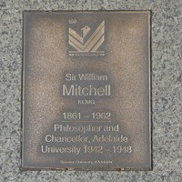 Image: Sir William Mitchell Plaque