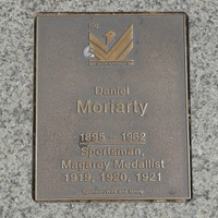 Image: Daniel Moriarty Plaque