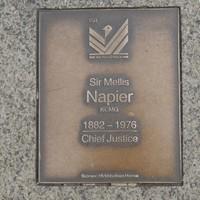 Image: Sir Mellis Napier Plaque