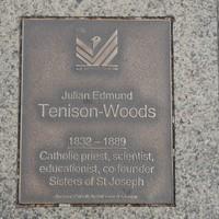 Image: Julian Edmund Tenison-Woods Plaque