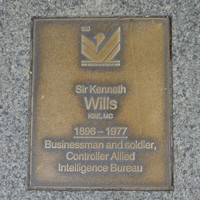 Image: Sir Kenneth Wills Plaque