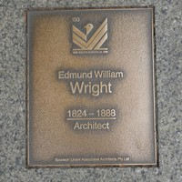 Image: Edmund William Wright Plaque