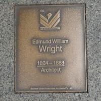 Image: Edmund William Wright Plaque