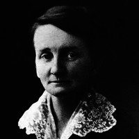 Image: Black and White Photograph of Woman