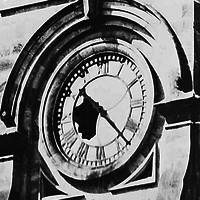Image: GPO clock earthquake damage