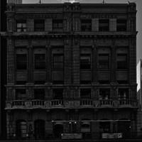 Image: multistory sandstone building