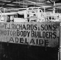 Image: sign in factory