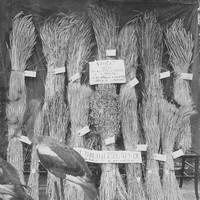 Image: display of bundles of wheat