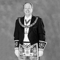Image: man in formal regalia