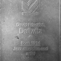 Jubilee 150 walkway plaque of David Dallwitz