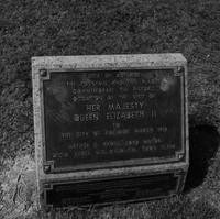 Image: Bronze plaque