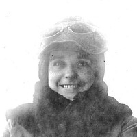 Image: woman wearing fur lined hood