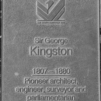 Jubilee 150 walkway plaque, Sir George Kingston