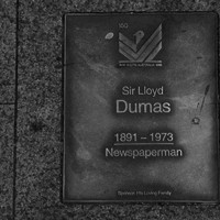 Image: Sir Lloyd Dumas Plaque