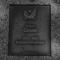 Image: William Gosse Plaque