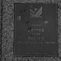 Image: Jimmy James Plaque