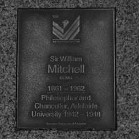 Image: Sir William Mitchell Plaque