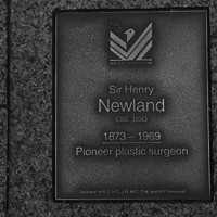 Image: Sir Henry Newland Plaque