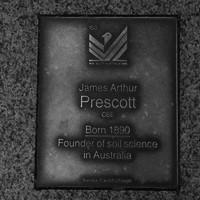 Image: James Arthur Prescott Plaque