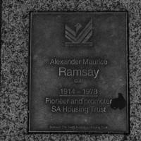 Image: Alexander Maurice Ramsay Plaque