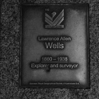 Image: Lawrence Allen Wells Plaque